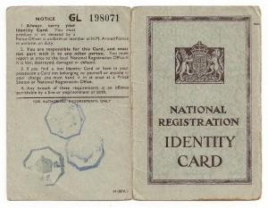 Old British identity card - Open Systems DRM